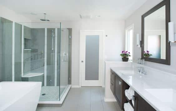 Mirror Property Sink Building Tap Plumbing fixture Fixture Cabinetry Bathroom Bathroom cabinet